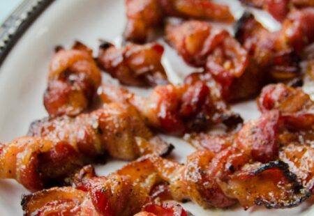 Peppered Maple Bacon Knots