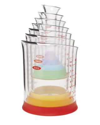 7-piece Nesting Measuring Beaker Set