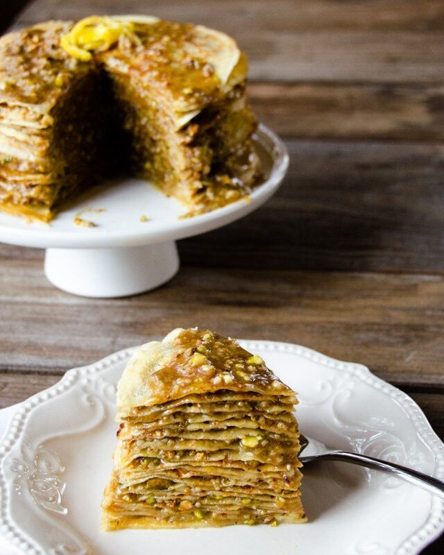 Baklava Crêpe Cake
