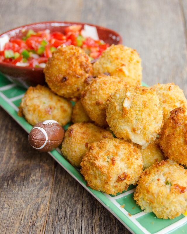 Spicy Chicken and Pepper Jack Cheese Bites