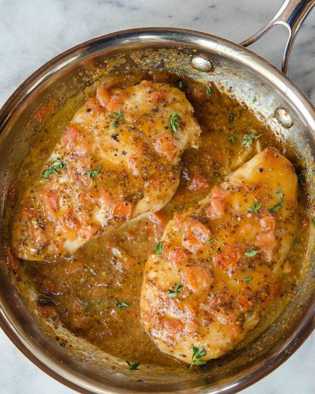 Sous Vide Balsamic Chicken