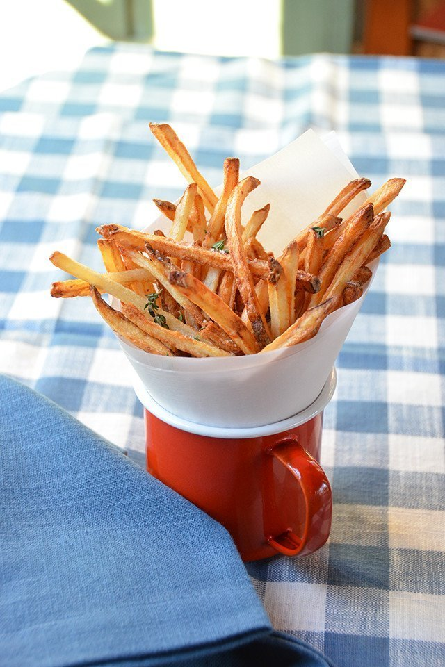 Skinny Fries Blue Jean Chef Meredith Laurence