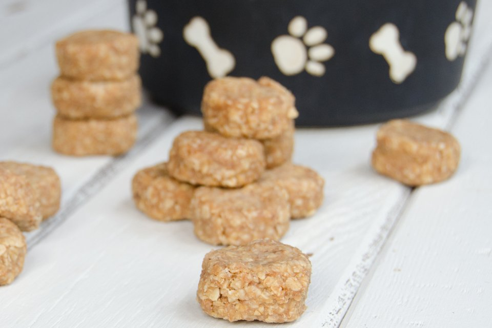 No Bake Puppy Treats Blue Jean Chef Meredith Laurence