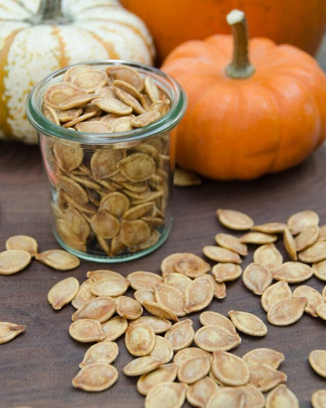 Air-Fried Pumpkin Seeds
