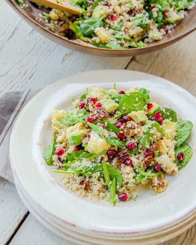 Quinoa and Spinach Salad