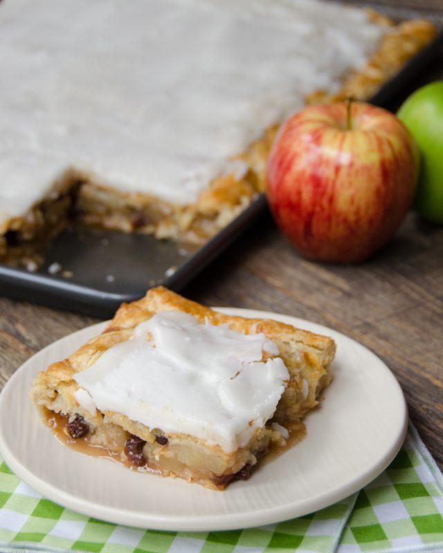 French Apple Slab Pie