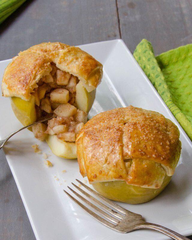 Stuffed Apple Pies
