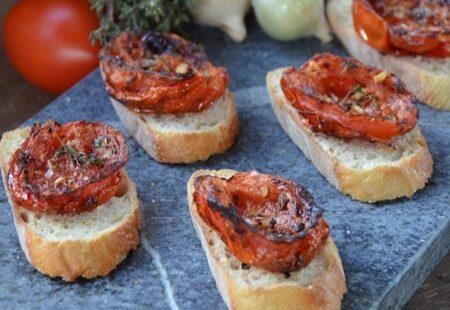 Thyme Garlic Tomatoes