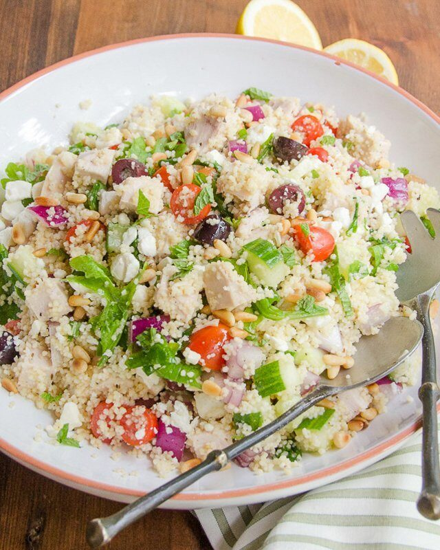 Turkey Couscous Salad