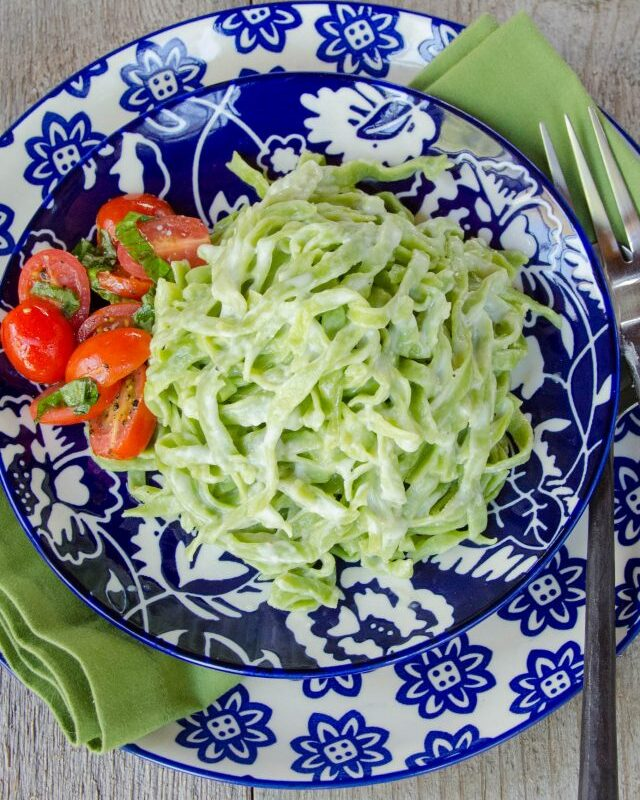 Spinach Fettuccini Alfredo