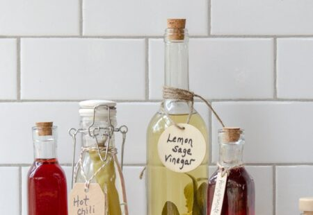 Homemade Flavored Vinegars