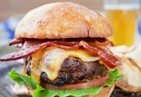 Bourbon Bacon Burger