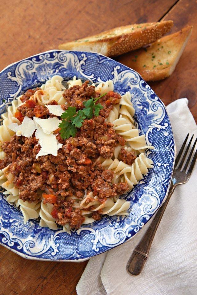 Pressure Cooker Bolognese Sauce Blue Jean Chef