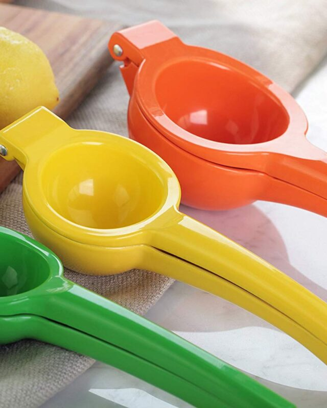 Enameled Aluminum Lemon Squeezer
