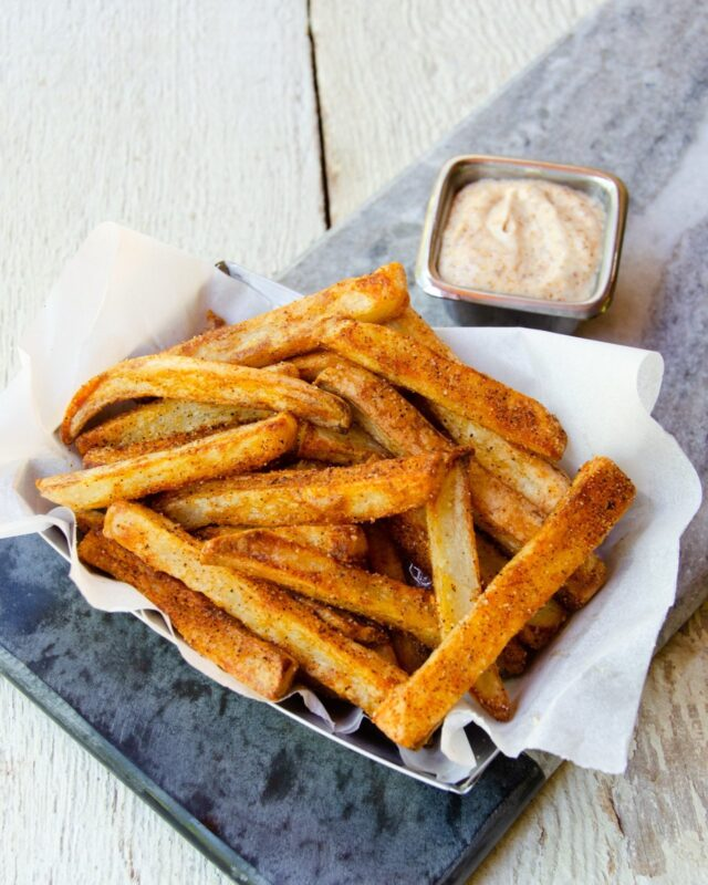Air-Fried Cajun Fries