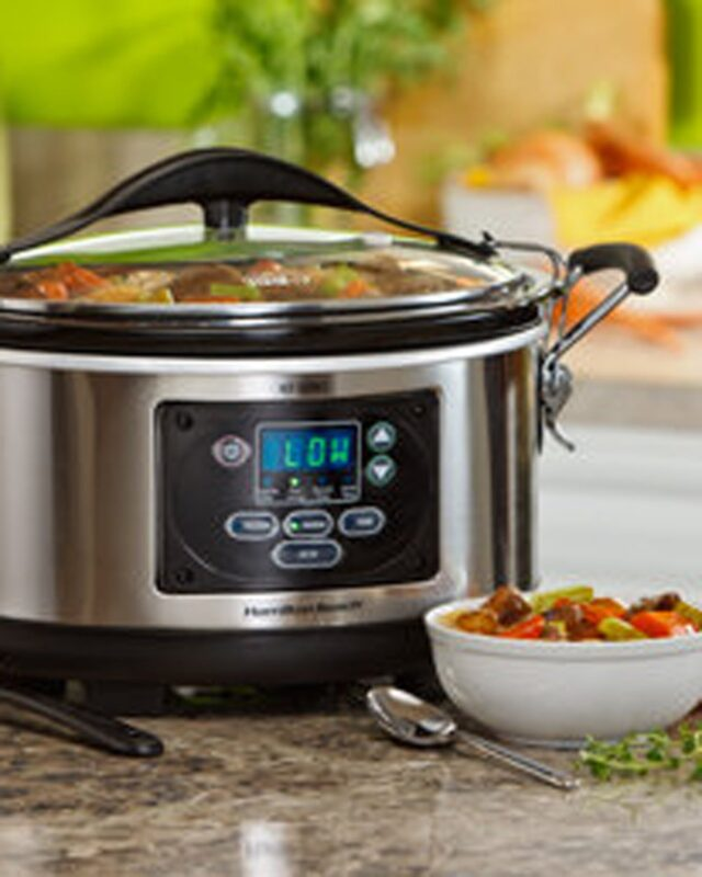 6-Quart Programmable Slow Cooker