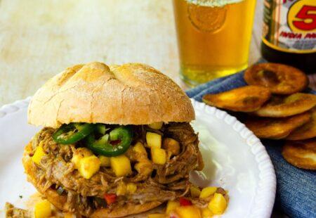 Mango Jalapeño BBQ Pulled Pork
