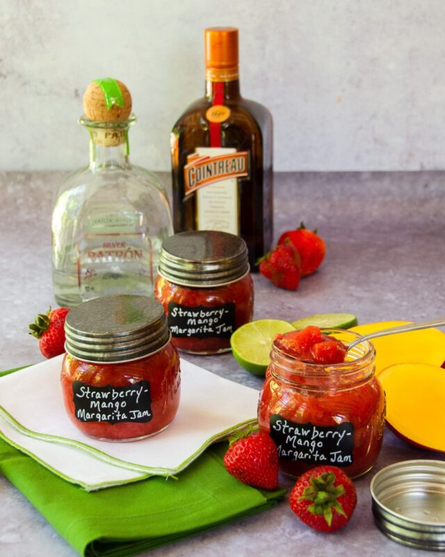 Strawberry Mango Margarita Jam