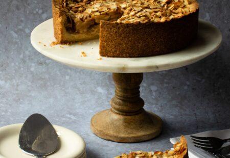 Apple Almond Torte