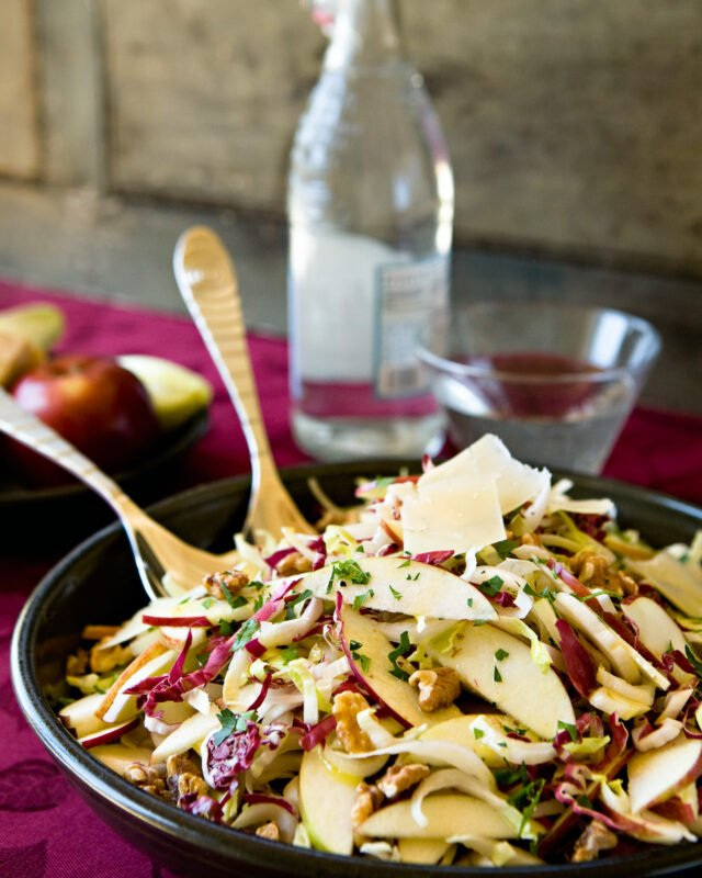 Endive, Radicchio and Apple Salad