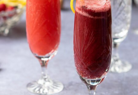 Jam Bellinis from the Midnight Apothecary