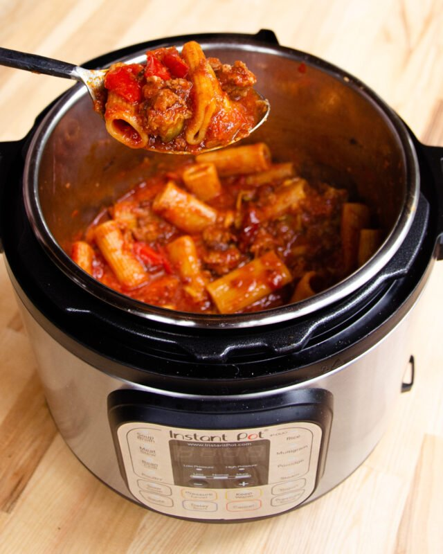 How to Cook Pasta in a Pressure Cooker