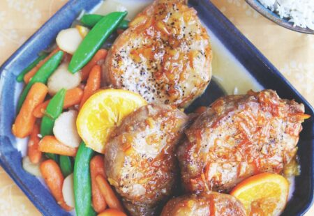 Orange Marmalade Pork Chops