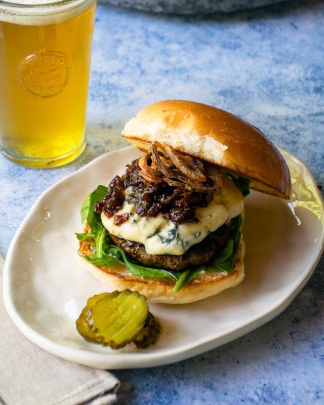 Bacon Blue Burger