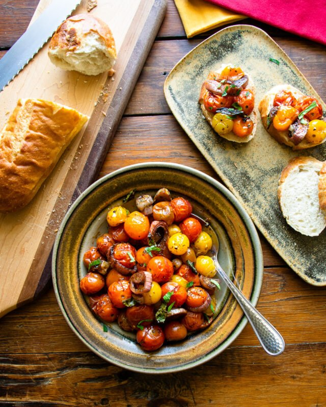 Balsamic Roasted Cherry Tomatoes