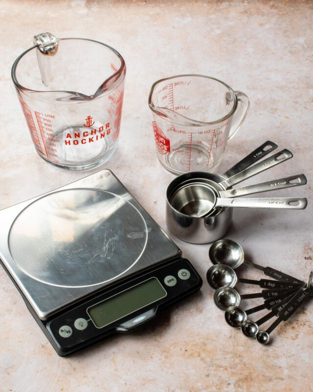 How To Measure Ingredients Properly