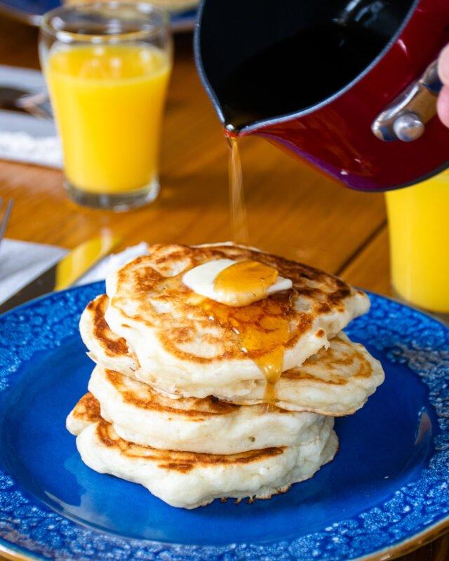 Sourdough Buttermilk Pancakes