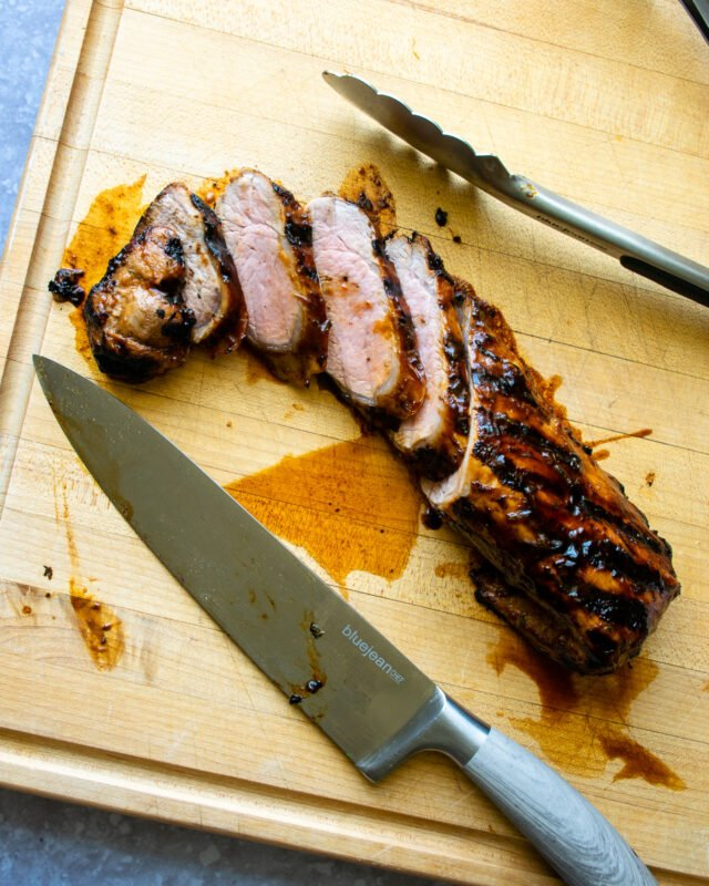 Grilled BBQ Pork Tenderloin